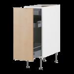 Напольный шкаф с выдвижной секцией