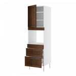 Высокий шкаф для кмбнц дхвк+3 ящиками