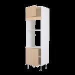 Высокий шкаф для СВЧ/духов/2 двери