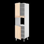 Высокий шкаф д/кмб дхвк 2 двери