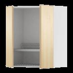 Навесной шкаф с посуд суш/2 дверцы