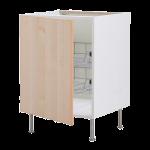 Напольный шкаф с проволочными ящиками