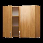 Навесной шкаф с дверями