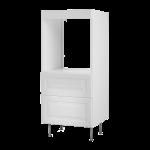 Высокий шкаф для духовки+2 ящика