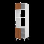 Высокий шкаф д/MW6/духовки 2 дверцы