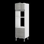Высокий шкаф для СВЧ/духовок+ящик/дверь