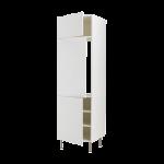 Высокий шкаф для холод или мороз с 3 дверцами