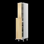 Высокий шкаф с выдвижной секцией для хрн/2 прв крзн