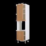 Высокий шкаф для духовки+2 двери